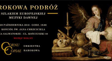 Jesienny koncert Cornu Copiae: już 29. października!